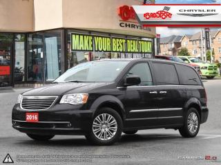 Used 2016 Chrysler Town & Country TOURING DUAL DVD PWR ROOF, LEATHER NAVI for sale in Scarborough, ON