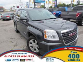 Used 2017 GMC Terrain SLE | BACKUP CAM | SAT RADIO | BLUETOOTH | WIFI for sale in London, ON