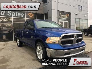 Used 2014 Dodge Ram 1500 SLT| Cloth| Remote Start| Seat 6| AUX for sale in Edmonton, AB