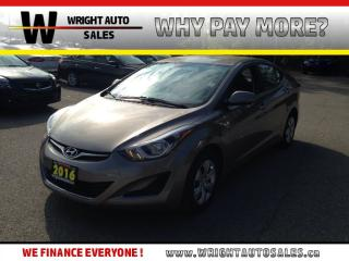 Used 2016 Hyundai Elantra GL| POWER LOCKS/WINDOWS| A/C| 19,153KMS for sale in Cambridge, ON