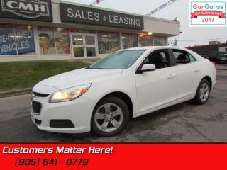 Used 2016 Chevrolet Malibu Limited LT  LIMITED, POWER GROUP for sale in St Catharines, ON