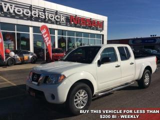Used 2017 Nissan Frontier SV  - Bluetooth -  SiriusXM - $192.19 B/W for sale in Woodstock, ON