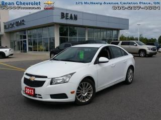 Used 2013 Chevrolet Cruze Eco for sale in Carleton Place, ON