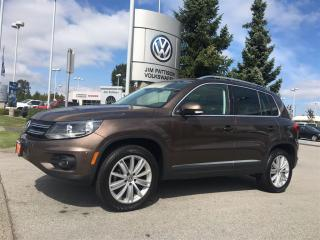 Used 2015 Volkswagen Tiguan Highline 6sp at Tip 4M for sale in Surrey, BC