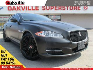 Used 2014 Jaguar XJ 3.0L SUPERCHARGED | LEATHER | SUNROOF | B/U CAM | for sale in Oakville, ON