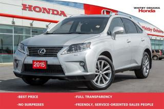 Used 2015 Lexus RX 350 3.5L AWD for sale in Whitby, ON
