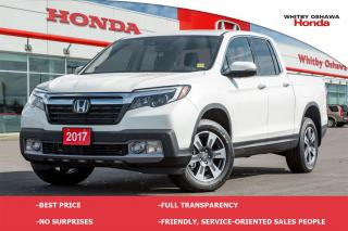 Used 2017 Honda Ridgeline TOURING for sale in Whitby, ON