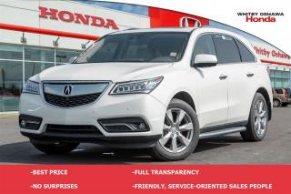 Used 2016 Acura MDX Elite Package for sale in Whitby, ON