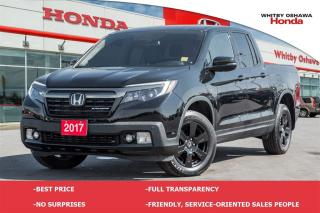 Used 2017 Honda Ridgeline Black Edition for sale in Whitby, ON