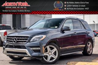 Used 2015 Mercedes-Benz ML-Class ML350 BlueTECe|4Matic|BlindSpot|Pano_Sunroof|Nav for sale in Thornhill, ON