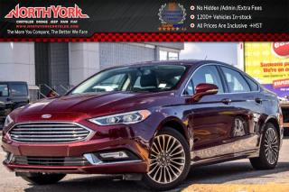 Used 2017 Ford Fusion SE|AWD|Sunroof|Nav.|Leather|Backup_Cam.|RrParkAid|R-Start|18
