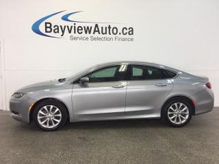Used 2015 Chrysler 200 C- REM START! PANOROOF! HTD LTHR! NAV! REV CAM! for sale in Belleville, ON