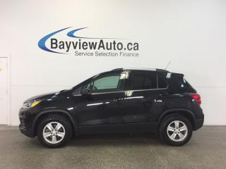 Used 2017 Chevrolet Trax - TURBO! AWD! REM START! REV CAM! BLUETOOTH! for sale in Belleville, ON