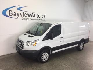 Used 2016 Ford TRANSIT-250 - 3.7L! A/C! REVERSE CAM! for sale in Belleville, ON