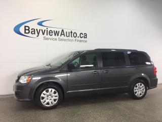 Used 2016 Dodge Grand Caravan SXT- FLEX FUEL! STOW 'N GO! UCONNECT! 3 ZONE AIR! for sale in Belleville, ON