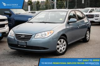Used 2009 Hyundai Elantra GL AM/FM Radio and Air Conditioning for sale in Port Coquitlam, BC