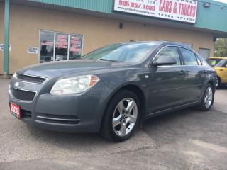Used 2008 Chevrolet Malibu LT $99.47 BI WEEKLY! $0 DOWN! 2016 DEALER OF THE YEAR!!! for sale in Bolton, ON