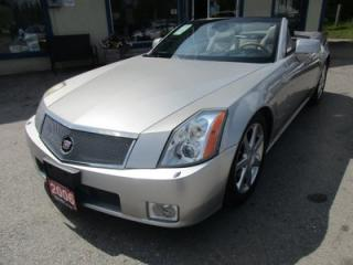 Used 2006 Cadillac XLR LOADED 'CONVERTIBLE' 2 PASSENGER 4.6L - NORTHSTAR.. LEATHER.. HEATED SEATS.. NAVIGATION SYSTEM.. BOSE AUDIO.. KEYLESS ENTRY.. for sale in Bradford, ON