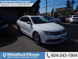 Used 2016 Volkswagen Jetta 1.4 TSI Comfortline POWER MOONROOF, CRUISE CONTROL, KEYLESS ENTRY & FRONT DUAL ZONE A/C for sale in Surrey, BC