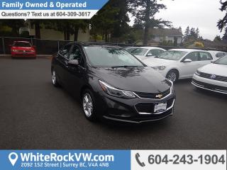 Used 2017 Chevrolet Cruze LT Auto Remote Keyless Entry, Radio Data System & Rear View Camera for sale in Surrey, BC