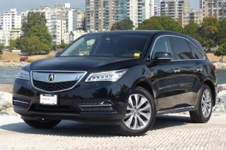 Used 2016 Acura MDX Navi *Local! Navi/Bluetooth! for sale in Vancouver, BC