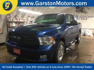 Used 2011 Dodge Ram 1500 SPORT*QUAD CAB*4WD*HEMI*NAVIGATION*LEATHER*POWER SUNROOF*BACK UP CAMERA*HEATED/COOLED FRONT SEATS*HEATED STEERING WHEEL*ALPINE AUDIO*CHROME RIMS*U CON for sale in Cambridge, ON