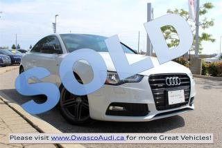 Used 2013 Audi A5 *SOLD* Coupé quattro S-line w/ Navigation for sale in Whitby, ON