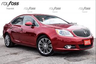 Used 2013 Buick Verano Leather Nav Rear Cam Sunroof for sale in Thornhill, ON