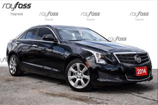 Used 2014 Cadillac ATS AWD Sunroof 17 Alum Whls Rear Cam for sale in Thornhill, ON