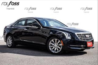 Used 2017 Cadillac ATS Luxury AWD Nav Roof Rear Cam for sale in Thornhill, ON