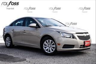 Used 2011 Chevrolet Cruze LT TURBO REMOTE START for sale in Thornhill, ON