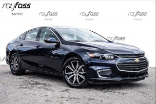 Used 2017 Chevrolet Malibu LT True North Edt. Nav Roof Rear Cam for sale in Thornhill, ON