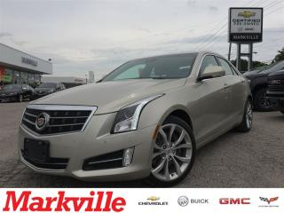 Used 2013 Cadillac ATS ONE OWNER-AWD-NAVI-PERFORMANCE for sale in Markham, ON