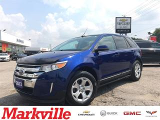 Used 2013 Ford Edge SEL-NAVI-ROOF-LEATHER-CERTIFIED for sale in Markham, ON