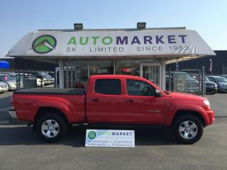 Used 2007 Toyota Tacoma Double Cab Long Bed V6 Auto 4WD for sale in Langley, BC