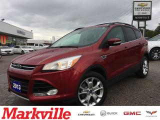 Used 2013 Ford Escape SEL-LEATHER-CERTIFIED PREOWNED for sale in Markham, ON