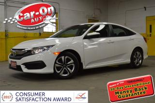 Used 2017 Honda Civic LX AUTO A/C HEATED SEATS REAR CAM BLUETOOTH for sale in Ottawa, ON