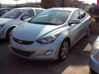 Used 2011 Hyundai Elantra Limited for sale in Georgetown, ON