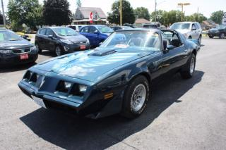 Used 1979 Pontiac Trans Am T-Top for sale in Cornwall, ON