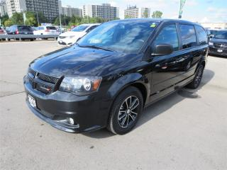 Used 2015 Dodge Grand Caravan Blacktop - DVD, GPS, Quad Captain Seats for sale in London, ON