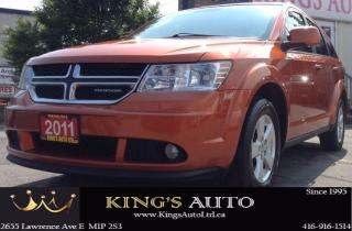 Used 2011 Dodge Journey SXT, 7 PASSENGERS, TRACTION CONTROL, DUAL SHIFT for sale in Scarborough, ON