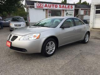 Used 2005 Pontiac G6 Very Low KM/Like New/Automatic/Comes Certified for sale in Scarborough, ON