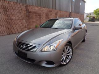 Used 2008 Infiniti G37 SPORT - NAVI - CAMERA - 1 OWNER for sale in Etobicoke, ON