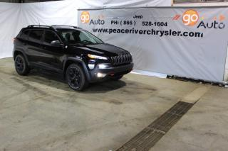Used 2018 Jeep Cherokee Trailhawk Leather Plus for sale in Peace River, AB