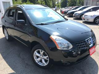 Used 2009 Nissan Rogue SL/AUTO/AWD/LEATHER/ROOF/DUAL DVD/ALLOYS/LIKE NEW for sale in Scarborough, ON