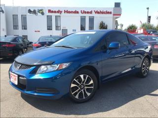 Used 2013 Honda Civic EX  - Sunroof - Alloys -  R.Camera for sale in Mississauga, ON