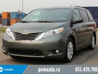 Used 2011 Toyota Sienna XLE LEATHER POWER DOORS REMOTE STARTER BRAND NEW TIRES ACCIDENT FREE for sale in Edmonton, AB