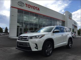 Used 2017 Toyota Highlander LIMITED  for sale in Pickering, ON