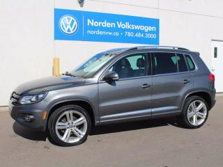 Used 2014 Volkswagen Tiguan Highline 4dr All-wheel Drive 4MOTION for sale in Edmonton, AB
