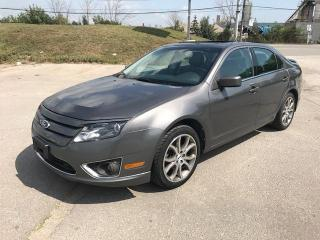 Used 2012 Ford Fusion SEL - ACCIDENT FREE for sale in Mississauga, ON